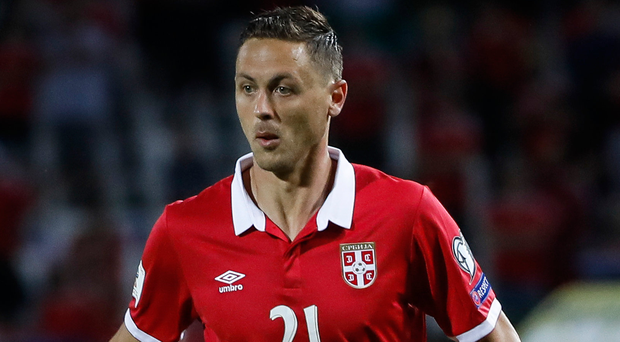 Fired-up: Nemanja Matic wants to play in World Cup