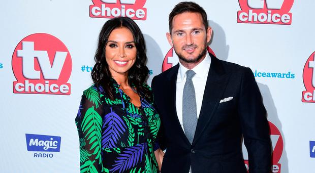 Christine Bleakley and Frank Lampard attending the TV Choice Awards 2017 (Ian West/PA Wire)