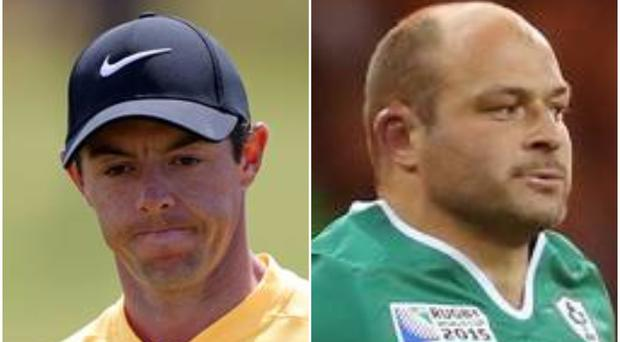 Rory mcIlroy and Rory Best have both been nominated among the top five.