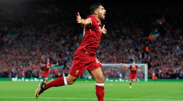Liverpool's Emre Can has yet to agree a new deal.