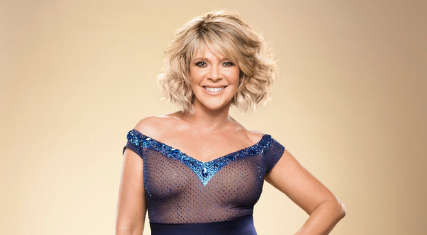 First steps: Ruth Langsford