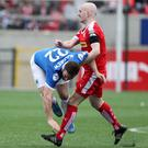 Top Cat: Ryan Catney's bite in the middle of the park has been badly missed by Cliftonville. Picture: Brian Little/Presseye