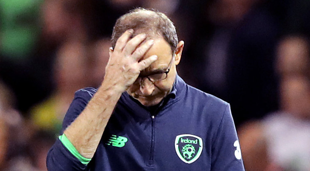 Head scratcher: Martin O'Neill and the Republic of Ireland have failed to push on after a bright start to the campaign