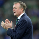 Northern Ireland manager Michael O'Neill. Photo: William Cherry/Presseye