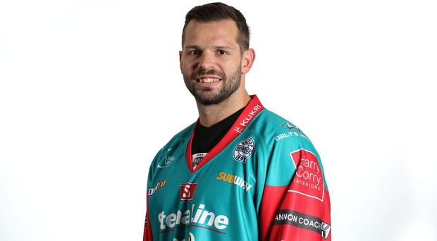 Blair Riley is the new Belfast Giants captain.