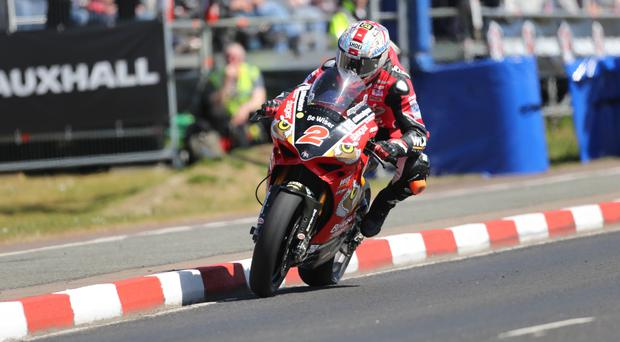 Key role: Glenn Irwin can have a big say in the outcome of the BSB Championship