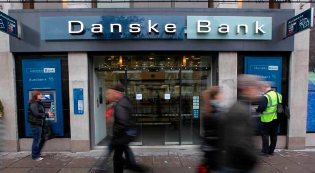 Danske Bank said its ATMs were hit by an IT problem at the company's servers in Denmark