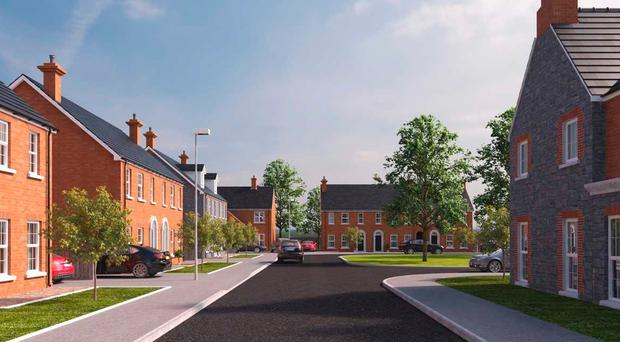 The new housing development planned for Larne