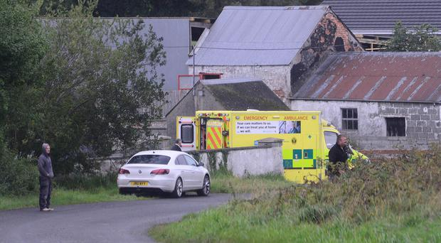 A woman has died in an accident on a farm in County Armagh. It is believed it happened in the Keady/Milford area outside Armagh city. Photo Arthur Allison/Pacemaker