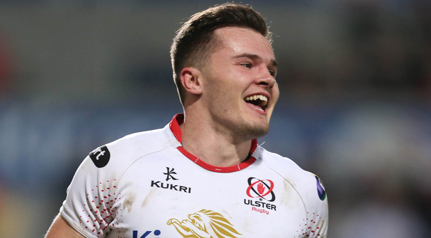 Winger Jacob Stockdale is parachuted straight back into the Ulster side