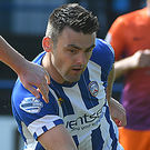 In hand: Eoin Bradley and the Bannsiders are on a roll. Photo: Kirth Ferris/Pacemaker