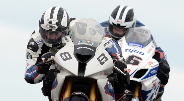 All revved up: Michael and William Dunlop are out for success. Photo: Charles McQuillan/Pacemaker.
