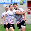 Ambition: Stuart McCloskey knows good displays for Ulster can get him back in the Ireland frame