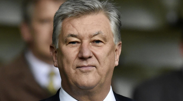 Taxing matters: Peter Lawwell has accused the authorities of allowing the Rangers EBT saga to fester