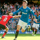 Stunning display: Josh Windass performed well when he came on