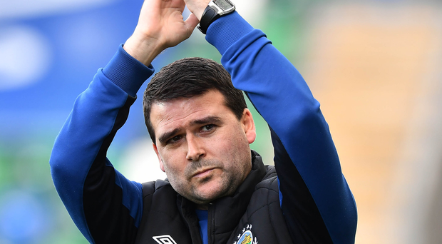 Five wins: Linfield boss David Healy