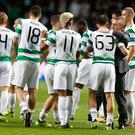 Celtic came through three rounds of qualifying to reach the group stages of the Champions League.