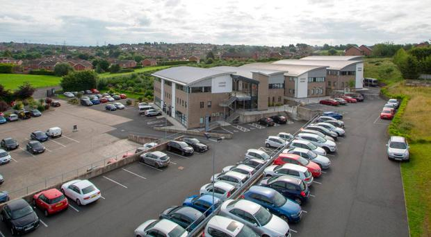 Beechill Business Park is being sold by Osborne King