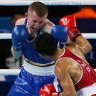Golden boy: Paddy Barnes on his way to winning gold in the Commonwealth Games in 2014