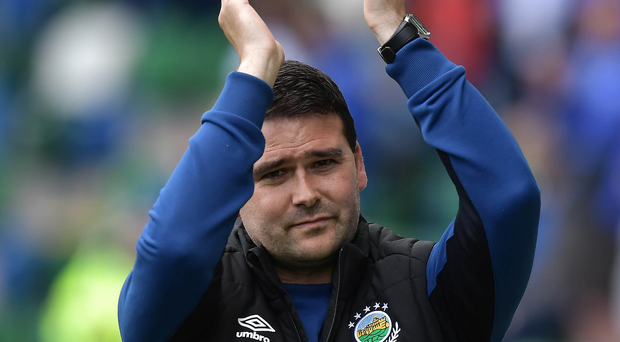 Bring it on: David Healy is relishing the Seaview clash