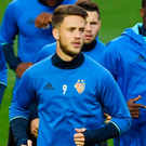 On fire: Ricky van Wolfswinkel has found his form at Basel