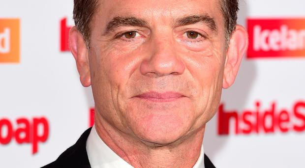 Soap star: John Michie