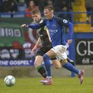 Glenavon's Mark Sykes has praised Kris Lindsay, who moved into a player-coach role at the club this summer.