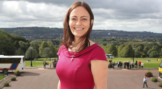 Press Eye - SDLP Announce New Deputy Leader - 12th September 2017 Following a meeting of the SDLP Parliamentary Assembly Group, the party Leader Colum Eastwood MLA announced Nichola Mallon as the new SDLP Deputy Leader.