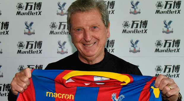 Hodgson takes over as Crystal palace manager