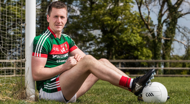 Glory drive: Cillian O'Connor is hoping to help Mayo end their long wait for All-Ireland success. Photo: Tommy Dickson/INPHO
