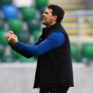 Two good: David Healy is not afraid to be disliked by Glenmen and he couldn't give a monkey's about it. Photo: Charles McQuillan/Pacemaker