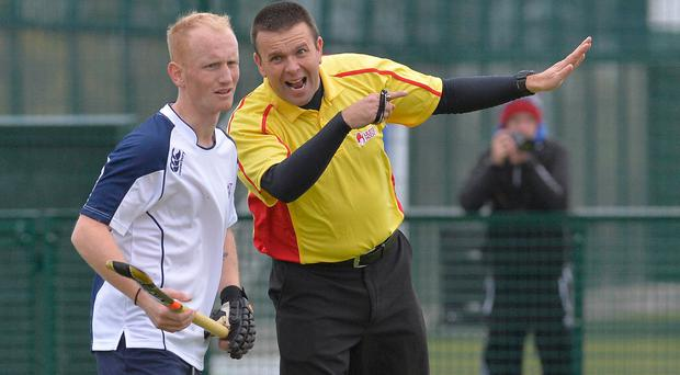 Reasoning: Irish Hockey Umpires Association chairperson Warren McCully points the way ahead