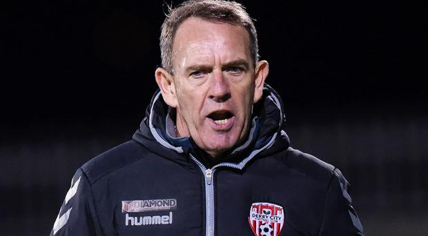 Back at it: Kenny Shiels' Derry return to competitive action