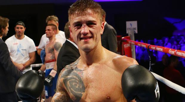Raring to go: Marc McCullough fights at the Devenish tomorrow night
