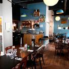 The interior of Salt Bistro