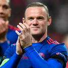 Big Roo-turn: Wayne Rooney during his days at Manchester United. Photo: Getty Images