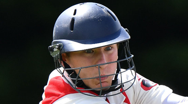 Top batsman: Adam Dennison. Photo: Rowland White/PressEye