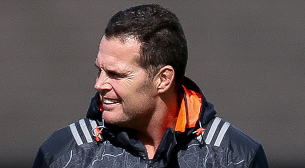 Outgoing: Rassie Erasmus will leave Munster in December. Photo: Bryan Keane/INPHO