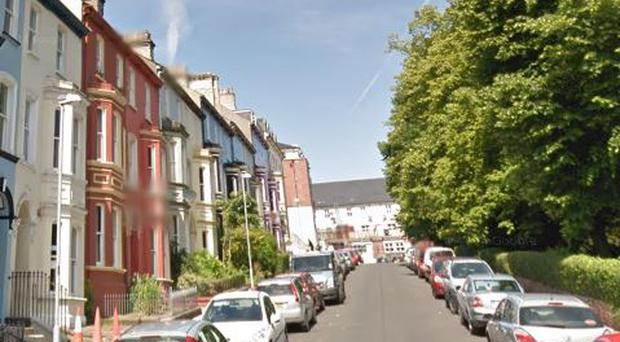 Londonderry's Crawford Square. Credit: Google Maps