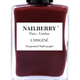 Nailberry Dial M for Maroon