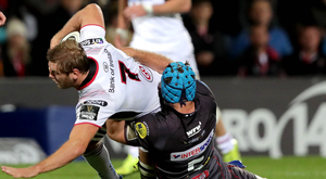 Breaking free: Ulster's Chris Henry wants teams to fear coming to the Kingspan