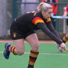 In form: Chloe McCann was on target for Lurgan