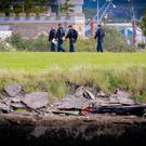A search for missing man Nathan Shields takes place in Clarendon Dock on September 18th 2017 (Photo by Kevin Scott / Belfast Telegraph)
