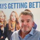 Ryanair boss Michael O'Leary during a press conference in Dublin where he has admitted the cancellation of flights due to pilot holidays is