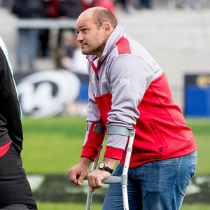 Sidelined: Rory Best is in a race against time