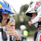 Shooting the breeze: Sebastien Ogier and Ulsterman Kris Meeke could be Citroen team-mates rather than rivals in 2018