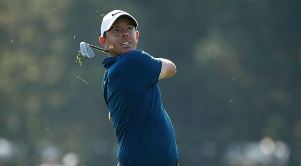 Count me in: Rory McIlroy will play in the British Masters as he aims to end 2017 on a high note