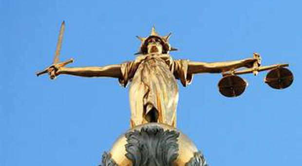 A man has been found guilty of assaulting his elderly father-in-law and threatening to