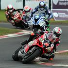 Glenn Iriwn leading the way in the final Superbike race of 2017.