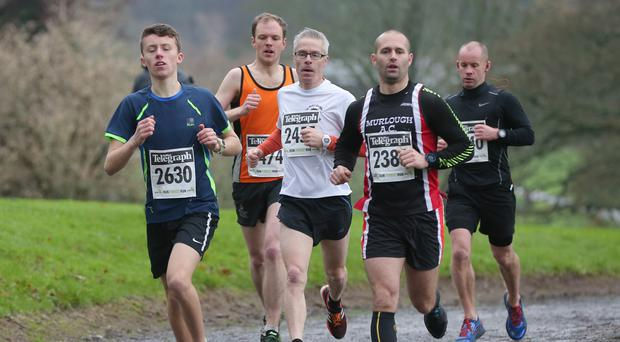 Kilbroney Park - Belfast Telegraph Run Forest Run Race - 2nd January 2016 Photograph By Declan Roughan